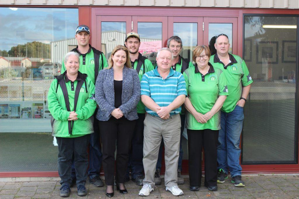 Team with Rebekha Sharkie MP