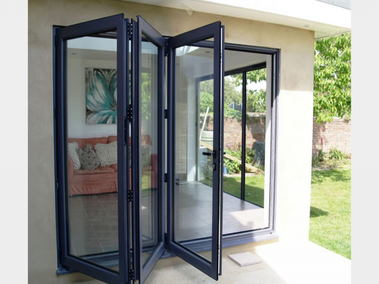 Accordion Glass Doors : Residential windows doors south coast