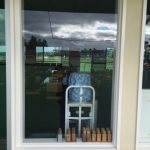 Commercial sliding window - before