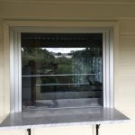 External servery window