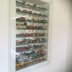 Glass display case LHS