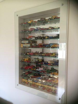 Glass display case RHS