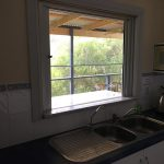 Internal servery window